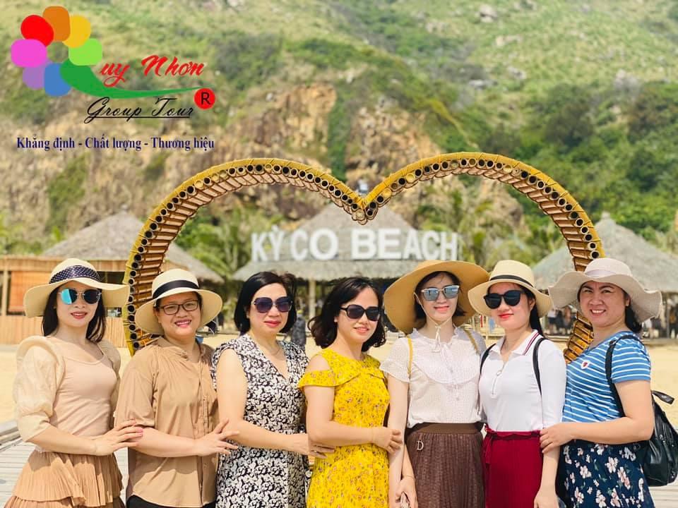 Du lịch biển đảo Quy Nhơn 1 Ngày Khám phá Hòn Khô- Kỳ Co- Eo Gió -KDL Trung Lương